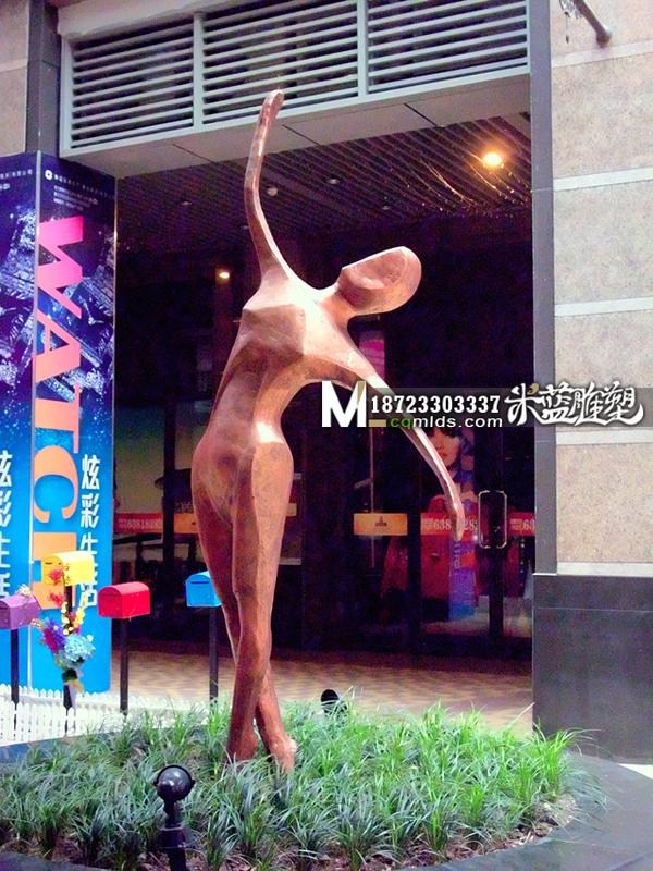 重庆玻璃钢雕塑人物