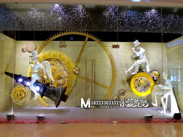 重庆商场玻璃钢卡通人物雕塑