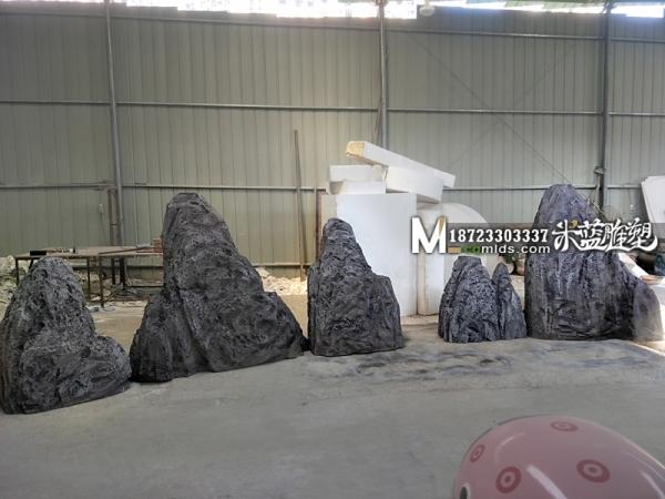 重庆泡沫假山制作