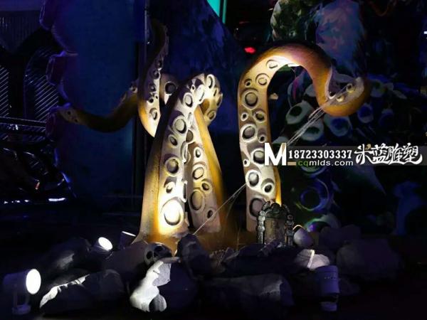 重庆舞台泡沫道具章鱼触角