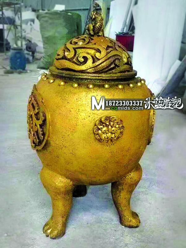 重庆泡沫雕塑香炉制作