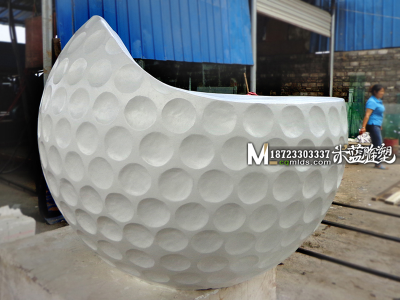 重庆艺术凳子高尔夫球形圆凳