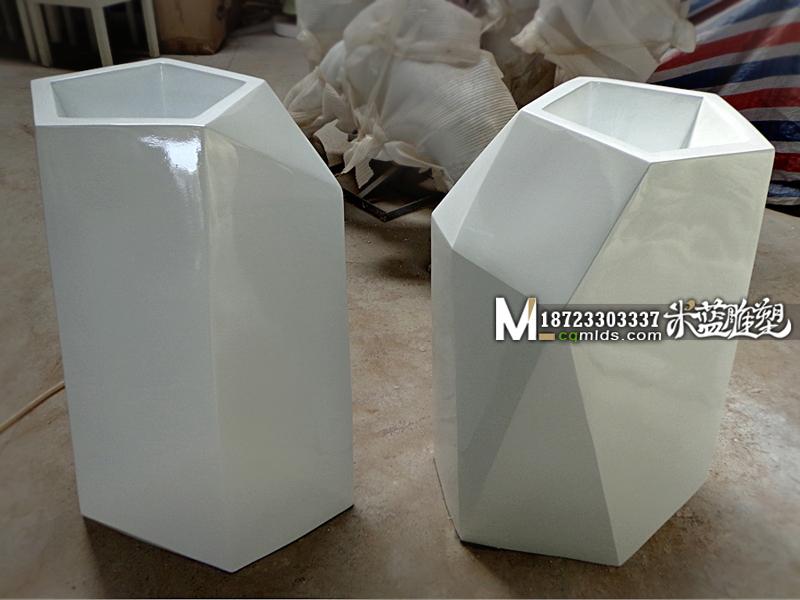 重庆玻璃钢花缸产品