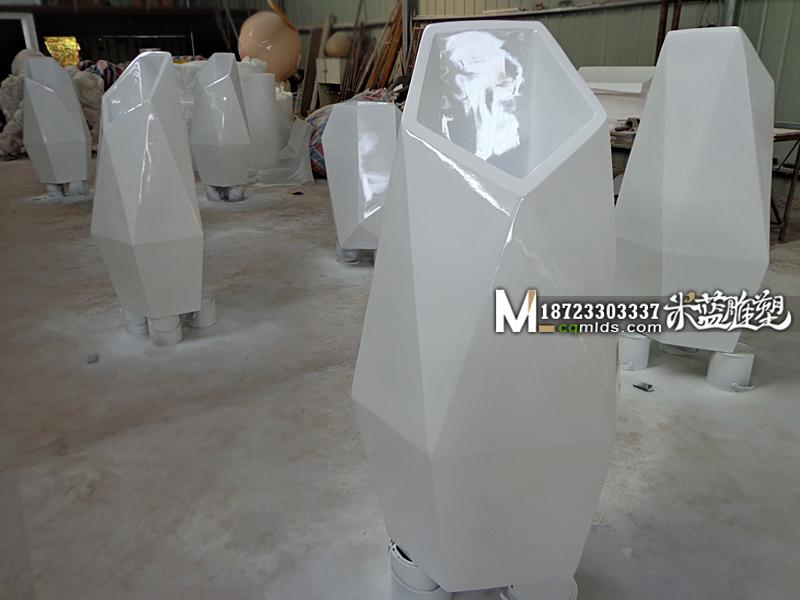 重庆玻璃钢花钵制作