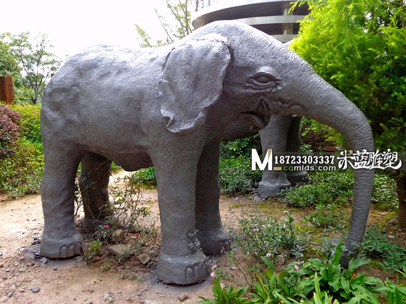 重庆水泥雕塑动物大象
