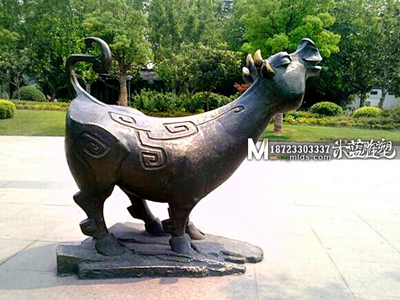 重庆铜雕雕塑古代神兽