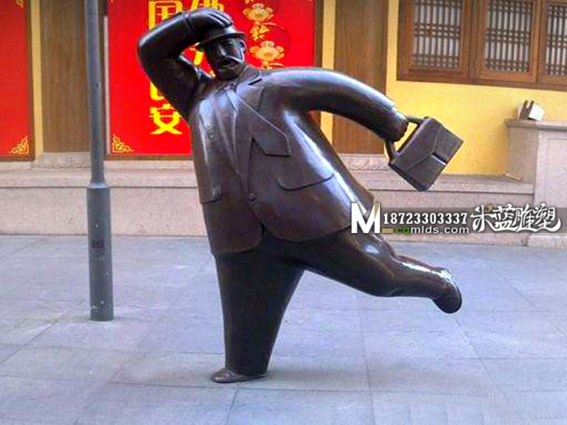 重庆铜雕铜人