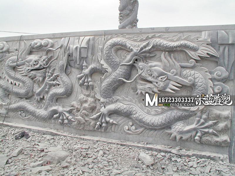 重庆石雕浮雕龙