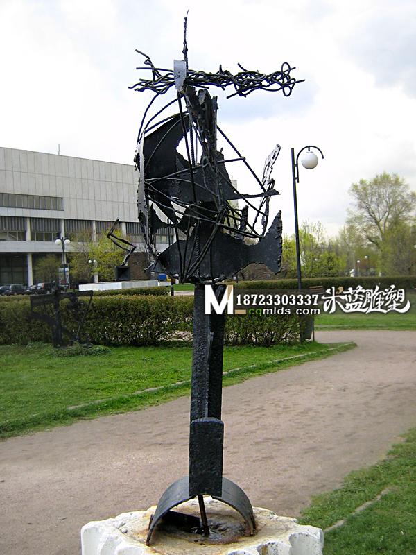 重庆铁艺雕塑抽象雕塑