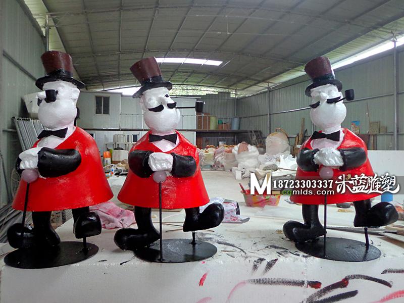 重庆泡沫雕刻卡通人物