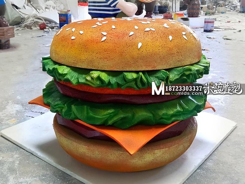 重庆泡沫雕塑汉堡