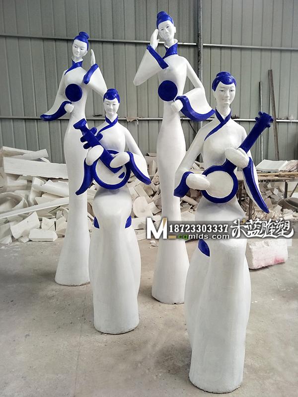 重庆泡沫雕塑制作古代女人