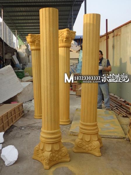 重庆砂岩雕塑罗马柱