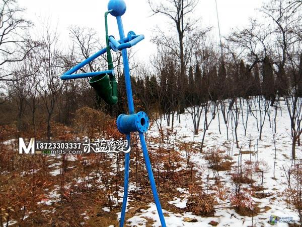 重庆铁艺雕塑抽象人物