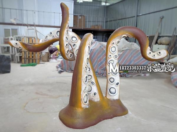 重庆泡沫雕塑章鱼触角