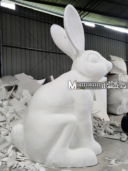 重庆泡沫雕塑厂兔子